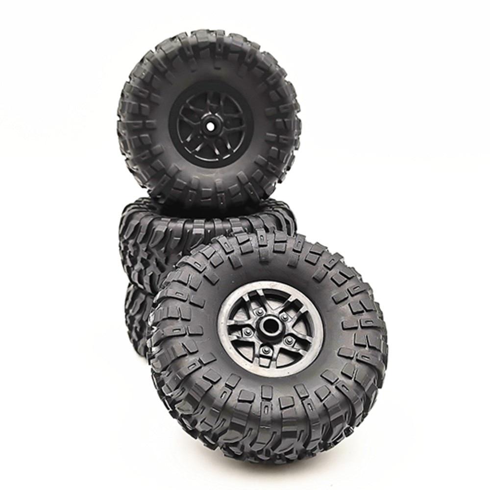 4 Pcs RC Car Tires Wheels Rims Set For MN D90 D91 RC Car Spare Parts Crawler Car Assembled Tyre For Truck Parts & Accessories