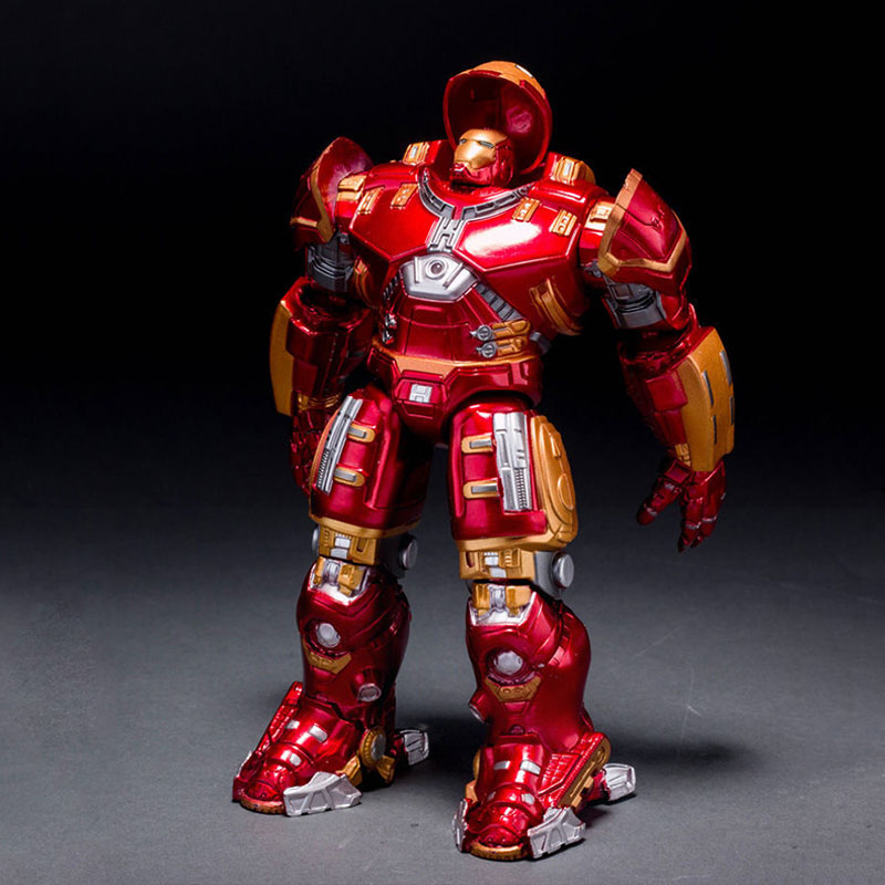 Marvel Avengers Ultron Iron Man Hulk Buster Collection Model Action Figures Model Toys For Children Adult Funny Gift xinduplan marvel shield iron man avengers age of ultron mk45 limited edition human face movable action figure 30cm model 0778