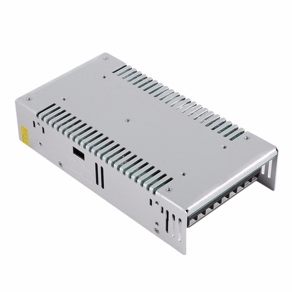 Universal Regulated Switching Power Supply Transformer Switch DC 5V 60A For LED Strip Light CNC CCTV Silver Hot Sale ac dc 36v ups power supply 36v 350w switch power supply transformer led driver for led strip light cctv camera webcam