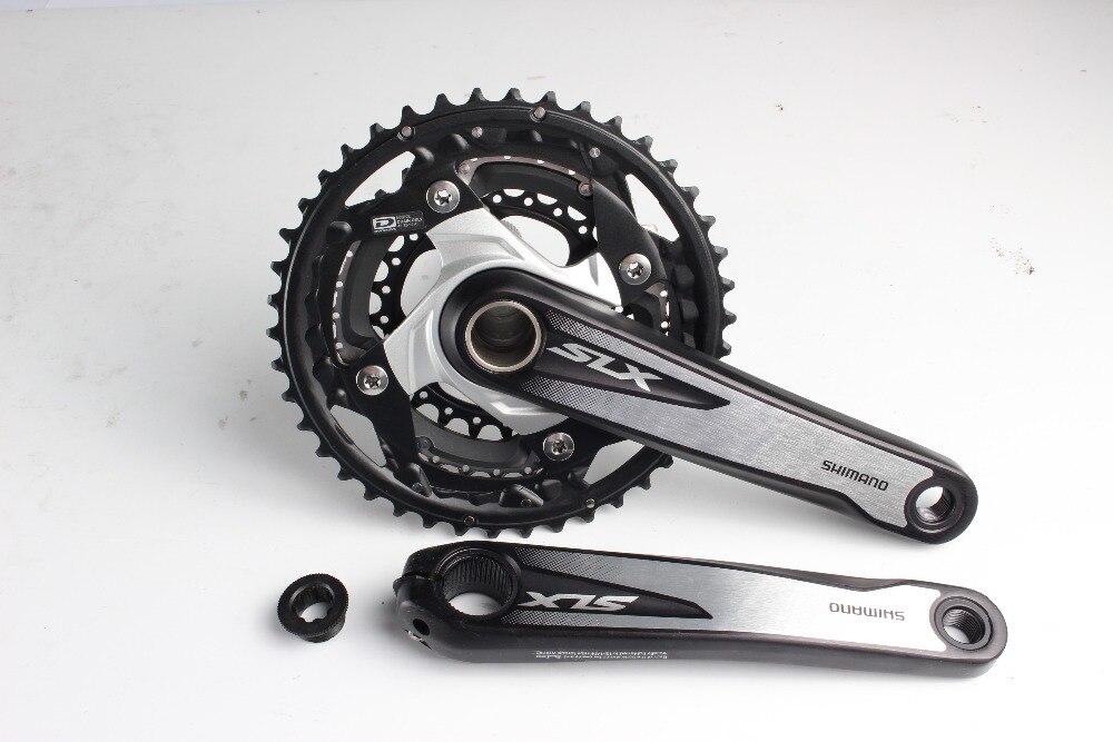 Shimano SLX M670 vélo vélo vtt 3x10 vitesse 30 s pédalier 42-32-24T 170mm Manivelle sans BB