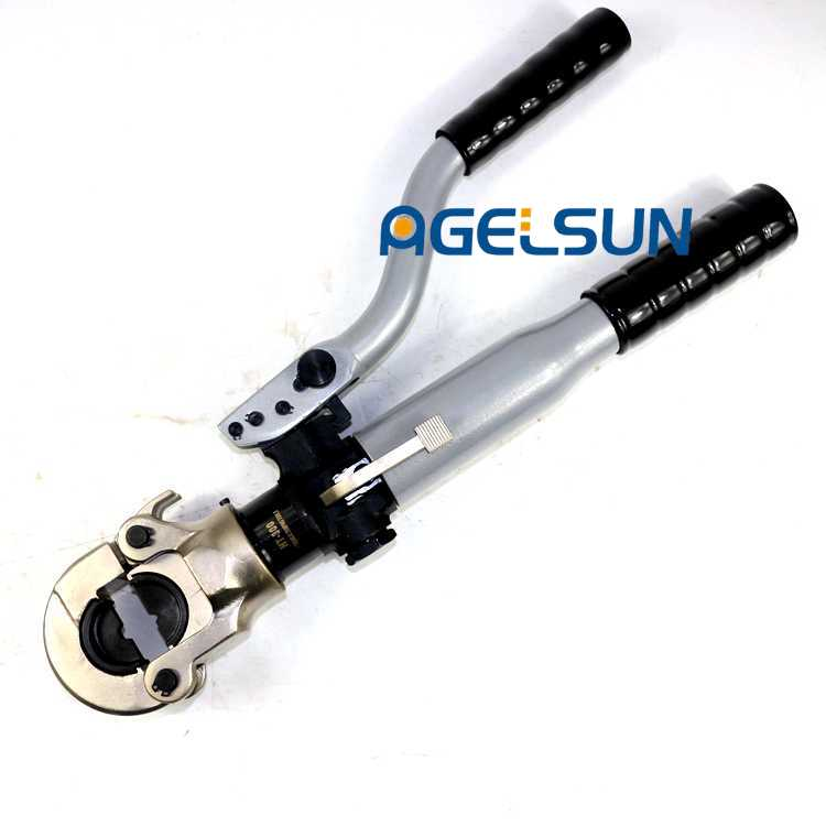 iGeelee ZUPPER TOOLS Hydraulic Cable Compression Plier HT 300 Range 16 300mm with flip top style