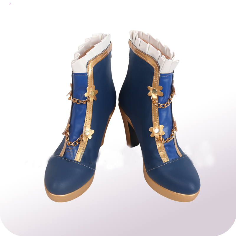 THE IDOLM@STER CINDERELLA GIRLS Takafuji Kako Cosplay Shoes Boots Halloween Cosplay Costume Accessories