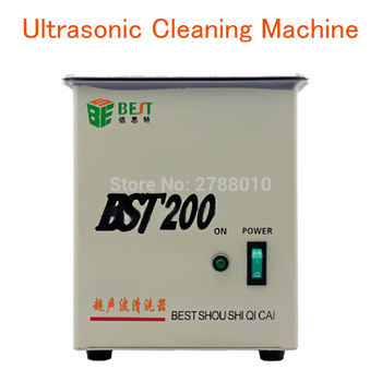 2L Stainless Steel Ultrasonic Cleaning Machine Practical Ultrasonic Cleaner Household  Cleaning Machine BST-200