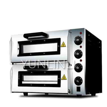 Commercial Electric Oven Double-layered Baking Machine Large Capacity Toaster Commercial Baking Oven bst-dkx02 t1 l101b home multifunction mini electric oven 10 liters home capacity double baked bit baking oven global free shipping