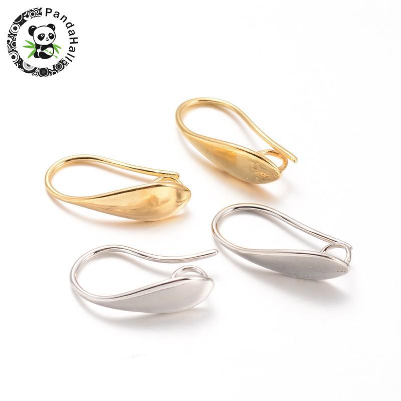 100pcs 304 Stainless Steel Bail Beads Smooth Rondelle Pendant Hanger Holder 11mm