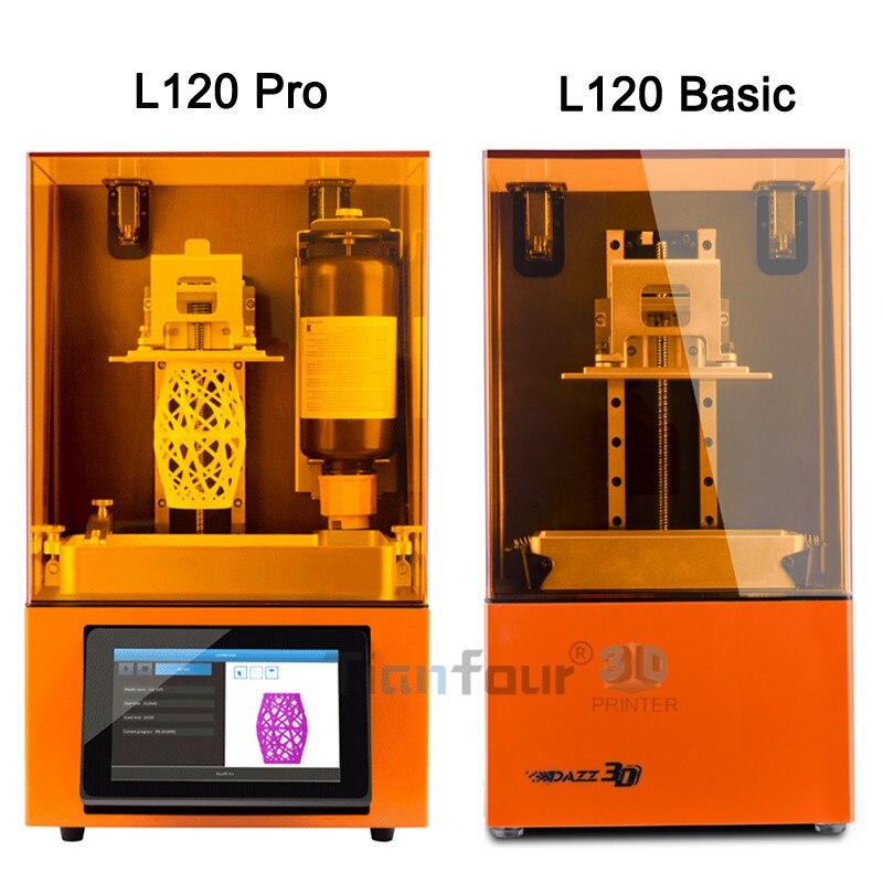 Dazz 3D plus avancé LCD SLA 3D imprimante haute précision qualité dlp 3d Impresora pour Bijoux dentisterie pièces de précision modèles - 2