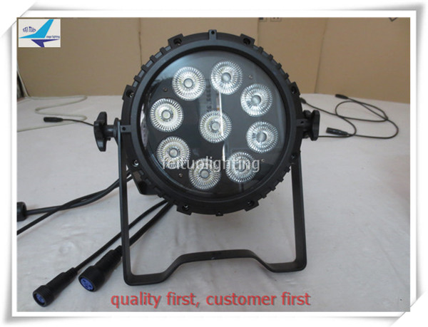 12 pieces Shopping online stage light led wash light outdoor led par can 9x18w rgbwa uv 6in1
