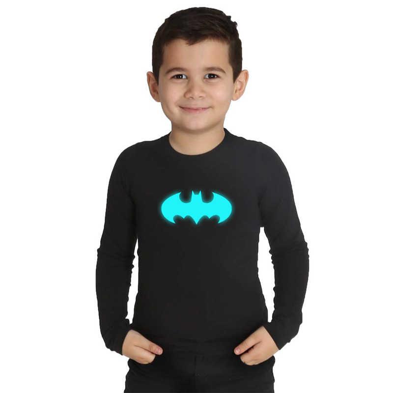 تي شيرت عيد ميلاد باتمان من LYTLM تي شيرت مطبوع عليه شخصية باتمان تي شيرت مطبوع عليه شخصية أنيمي الأولاد بأكمام طويلة ملابس شتوية للأطفال