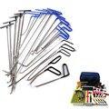 FURUIX PDR инструменты крючки Пружинные стальные стержни для удаления вмятин автомобильный вмятин Ремонтный комплект для ремонта кузова автом...
