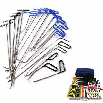 FURUIX PDR Tools Hooks Spring Steel Push Rods Dent Removal Car Dent Repair Car Body Repair Kit Paintless Dent Repair Tools set - DISCOUNT ITEM  21 OFF Tools