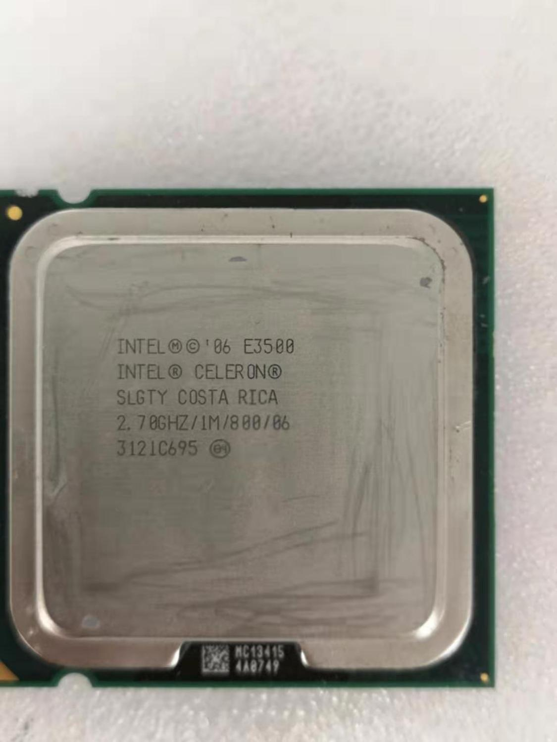 Intel Core 2 Duo E3500 Desktop Processor Dual-Core 2.7GHz 1MB Cache FSB 800MHz LGA 775 E 3500 Used CPU