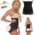 Las mujeres de Cintura Alta Butt Lifter Tummy Control Bottock Shorts Botín Enhancer Butt Lifter Bragas Sexy Ropa Interior Modeladora Faja