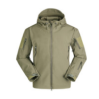 Stealth V5 0 Military Tactical Men Jacket Lurker Shark Skin SoftShell Waterproof Windproof Hunting Camouflage Army