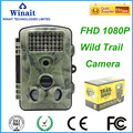 12MP 1080 P cámara de la caza de exploración Nueva HD Digital Por Infrarrojos Cámara Trail 2.4 'LCD IR Cam Ruso Cazador