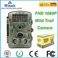 12MP 1080 P scouting câmera caça Novo HD Digital Infrared Camera Trail 2.4 'LCD IR Caçador Cam Russo