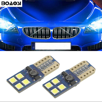 2x W5W 3030 LED Error Free Eyebrow Eyelid Light Bulb For BMW E46 E39 E91 E92 E93 E28 E61 F11 E63 E64 E84 E83 F25 E70 E53 E71 E60 image