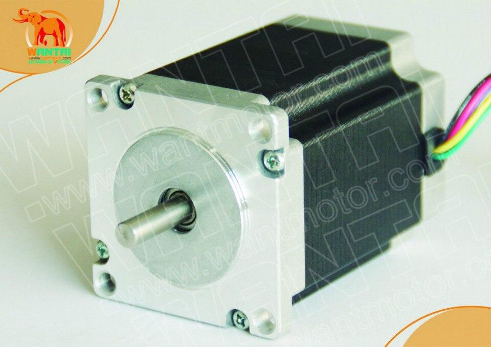 1pc Nema 23 Cnc 425oz-in Doble shaft,4-lead Stepper Motor Router Impresora 3d
