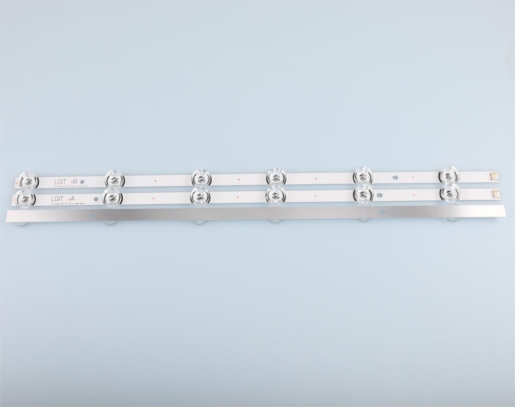 "Image 5 - LED backlight strip 6 lamp for LG 32""TV 32MB25VQ 6916l 1974A 6916l 1981A lv320DUE 32LF580V 32LB5610 innotek drt 3.0 32 32LB582V-in Light Beads from Lights & Lighting"