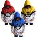 Teens Pokemon Sweatshirt Boys Hoodies Autumn Winter Long Sleeve Pokemon Shirt Teen Boy Clothing