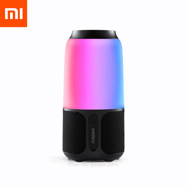 Xiaomi Mijia V03 Bluetooth Portable Wireless Loudspeaker Colorful Night Light Music Induction Stereo surround Speaker