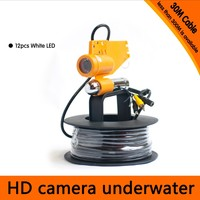 30Meter Depth Underwater Camera With Single Lead Rode For Fish Finder Diving Camera Application