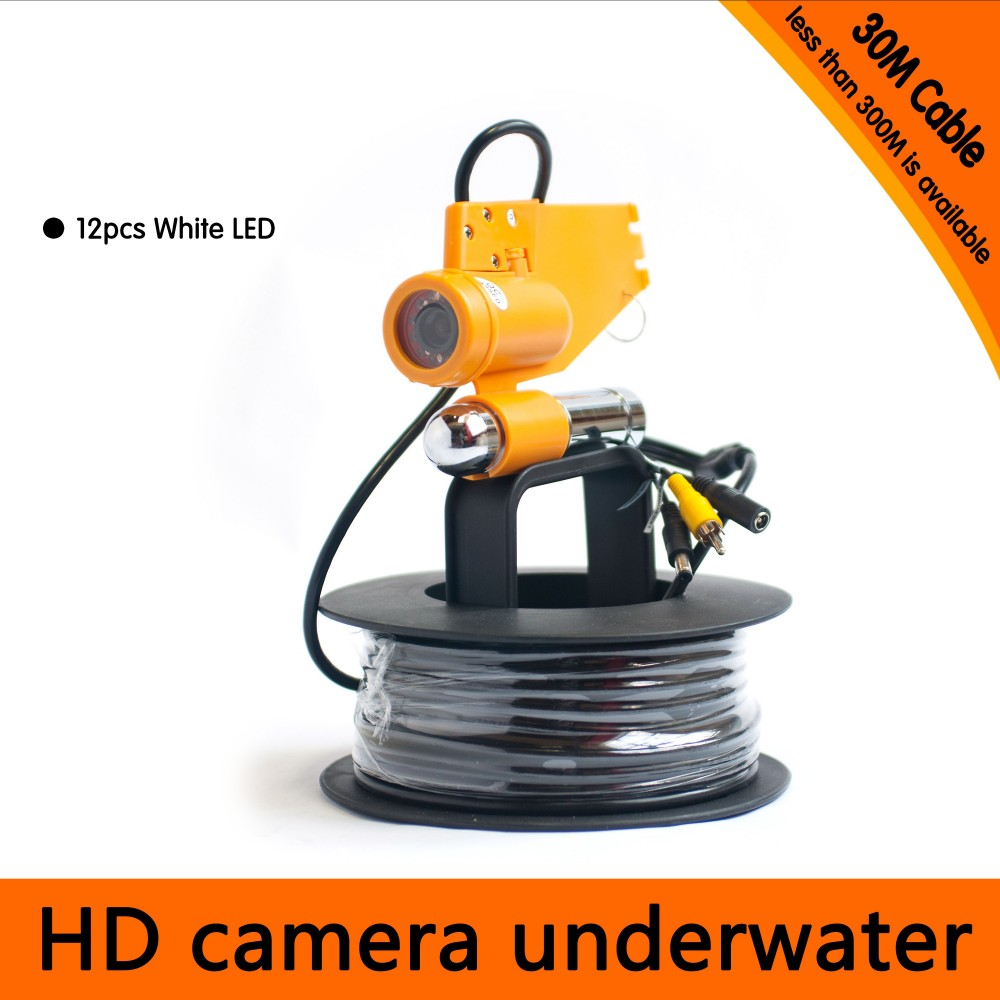 Free Shipping 30Meter Depth Underwater Camera with Single Lead Rode for Fish Finder & Diving Camera Application 1000mg 100 pcs fish oil bottle for health capsules omega 3 dha epa with free shipping