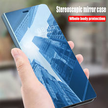 Clear Mirror View Flip Stand Case For Xiaomi Redmi Note 5 Pro 4 4X 5A Plus Redmi 5 Plus MI 6 8 5X 5C A2 A1 6X Mix2 Max3 Cases(China)