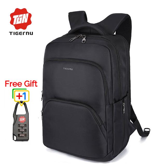 Tigernu multifunções à prova d' água grandes homens de capacidade 17 polegada laptop mochila de nylon mochila mulheres mochilas escolares para adolescente meninas