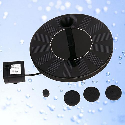1.4W 7V High Power Solar Floating Fountain Water Pump Solar Panel Plants Watering Garden Fountain Pump