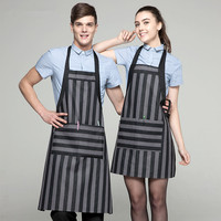 Chef waiter food cook kitchen cake coffee restaurant working clothes uniform clothing jacket workwear apron cap scarf pants 006