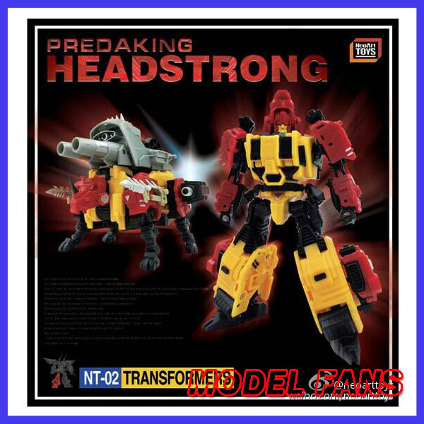 все цены на  MODEL FANS IN-STOCK neoart toys ko MMC Transformation robot  Predaking Headstrong Rhino bison freeshipping  онлайн