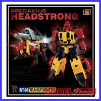 MODEL FANS IN-STOCK neoart toys ko MMC Transformation robot  Predaking Headstrong Rhino bison freeshipping