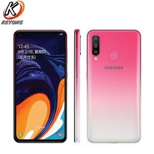 "Image 2 - New Samsung Galaxy A60 LTE Mobile Phone 6.3"" 6G RAM 64GB/128GB ROM Snapdragon 675 Octa Core 32.0MP+8MP+5MP Rear Camera Phone"