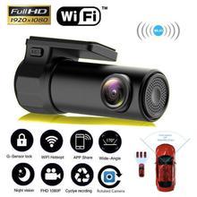 Автомобильный видеорегистратор FC106 Smart WiFi dvr 5MP камера 170 градусов беспроводной Автомобильный видеорегистратор 1080P Full HD ночная версия видеорегистратор