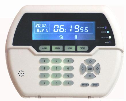 PB-502R LCD keypad
