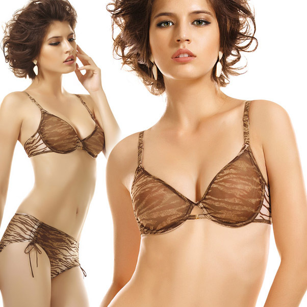 4934b64d38 Brand new summer ultrathin comfortable bra   brief sets underwear sexy net  print push up bras with womens panty set AC-71644
