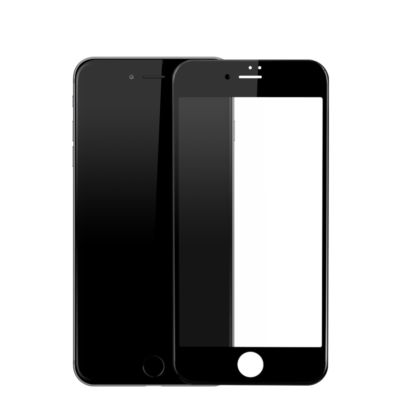 Image 3 - Baseus Tempered Glass For iPhone 8 8 Plus Screen Protector Ultra Thin 9H Protective Glass For iPhone 7 7 Plus Full Coverage Film-in Phone Screen Protectors from Cellphones & Telecommunications