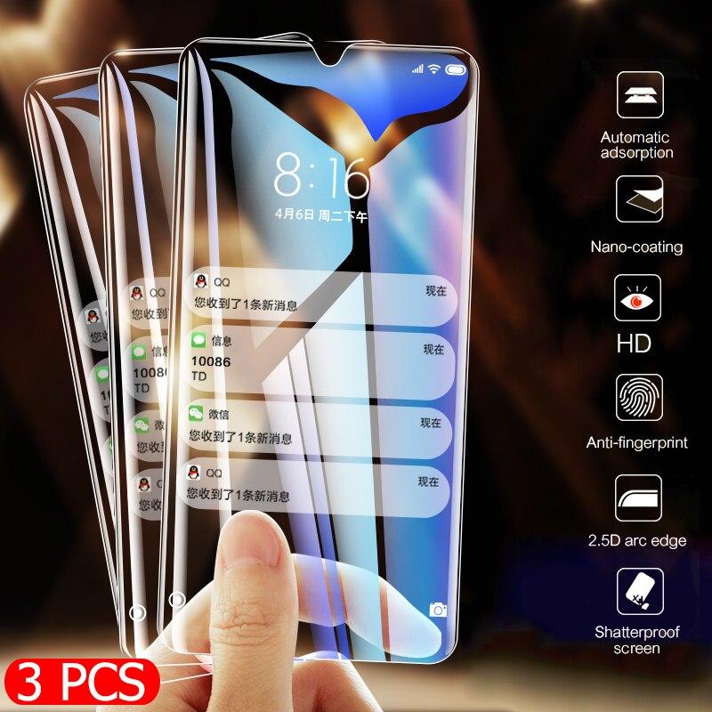 3 pièces verre trempé complet pour Huawei P30 P20 Pro P10 Lite P couverture de protection d'écran intelligente pour Huawei Mate 20 Lite Film de protection