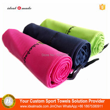 Free DHL Custom desgin Outdoor Sports Quick Drying Cooling Towel /Ice Cool Towel With Bag