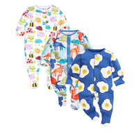 Newborn Baby Rompers 100 Cotton Long Sleeve Jumpsuits Cartoon Cute Infant Costumes Baby Boys Baby Girl