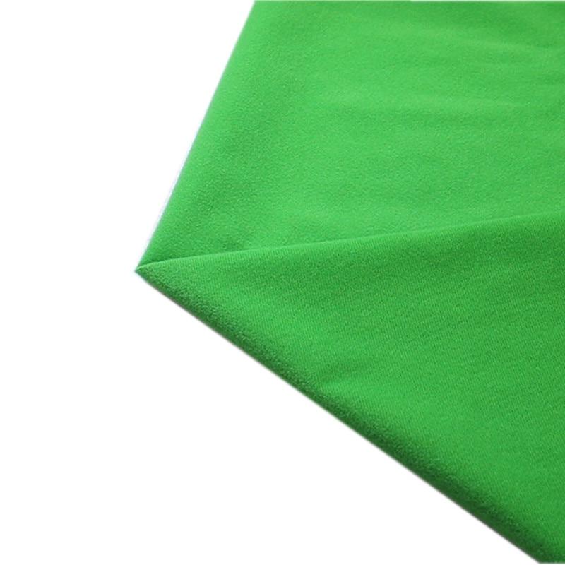 50*150cm Emerald Green Fleece Fabric Tilda Plush Cloth for Stuff Toys Dolls Sewing Knitted Velvet Loop Fabrics can Hook Tissue