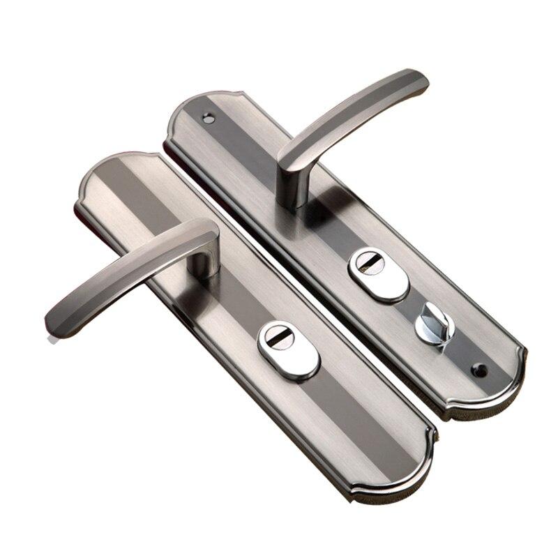 Universal house security lock Indoor Dual Latch Antique Security door lock for living room toilet bedroom door Accessory
