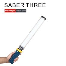 лучшая цена Falcon Eyes Saber3 LED Photo Video Continuous Light 15W 3200/5600K High CRI95 Dimmable Power Output Handheld LED Light Stick