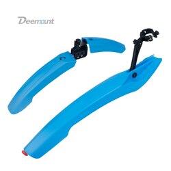 Deemount 1 para błotnik rowerowy z tylne światło led MTB Mountain 24 26 27.5 cal rower Mud Wings przód/tył błotnik koła|Błotniki|Sport i rozrywka -