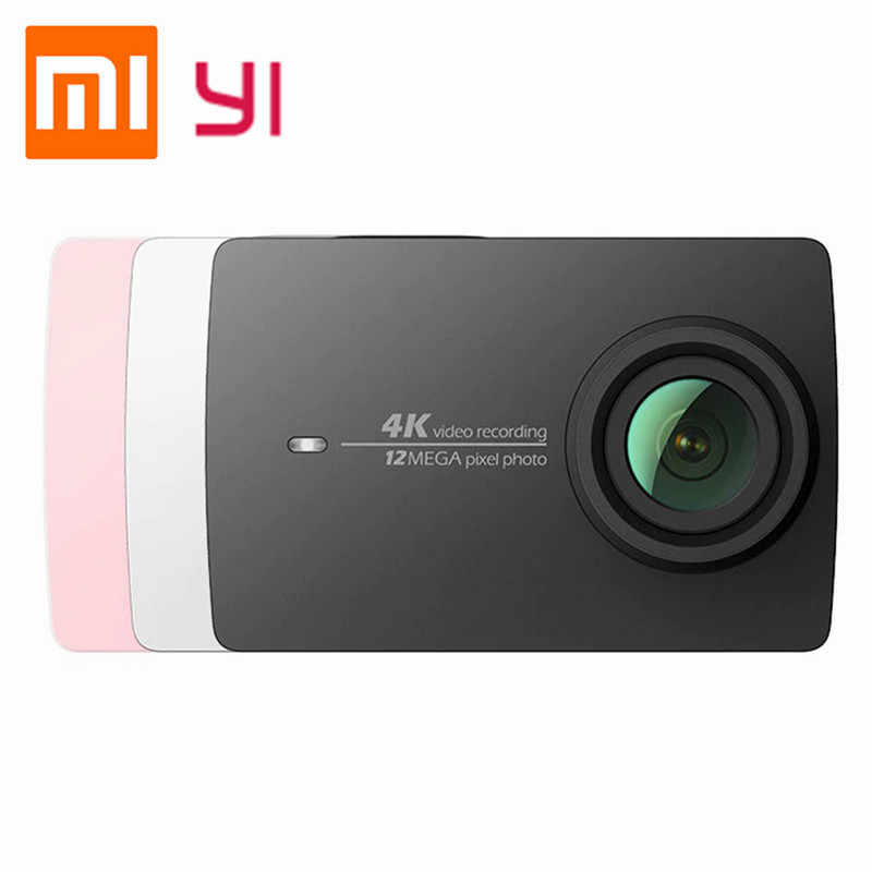 Xiaomi YI 4K Экшн камера Ambarella A9SE75 Спортивная мини ARM 12MP CMOS 2.19in 155 градусов сенсорный