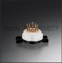 2 шт. 7pin High End Керамические Розетки Трубы Для 6Z4 6X4 EF95 EZ90 EAA91 EF91 6AQ5 6J1(China (Mainland))
