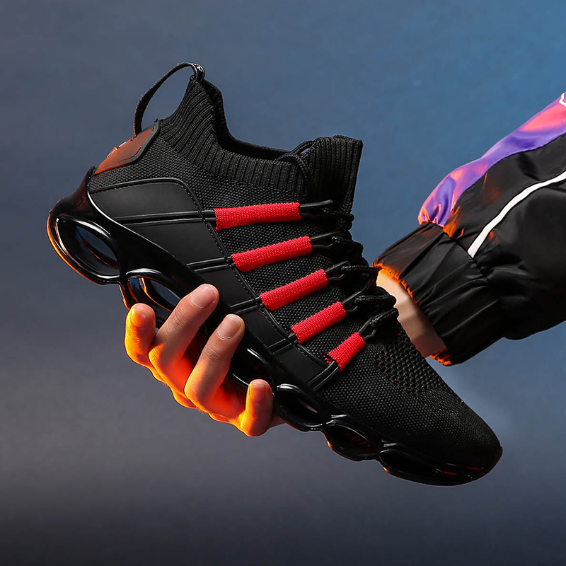 Baseball-Shoes Antiskid New Men Jogging-Sneakers Blade Trekking Comfortable Mountain-Sports-Climbing