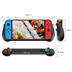 Image 5 - Funda de batería de 10000mAh para consola Nintendo Switch, con soporte, Cargador rápido, batería externa para Nintendo Switch NS NX
