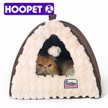 HOOPET складной и стирать в теплой PV бархат Замок Кота собака, кошка, щенок Дом Литт Товары для собак палатка Форма дом