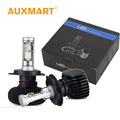 Auxmart Car Headlight Kit LED H4 HB3 9005 HB4 9006 H11 H7 50W/set 8000lm CSP CREE Chips Bulb Auto Head Lamp For Toyota Honda VW